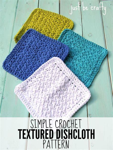 crochet dishcloth crochet textured dishcloth pattern free pattern by