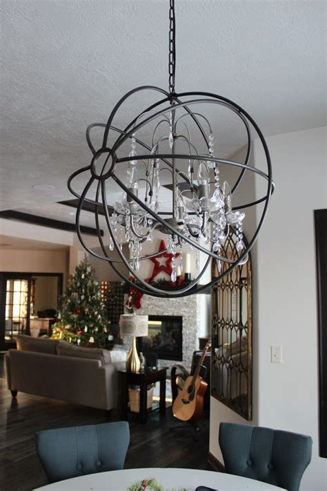Orb Chandelier Dining Room 1000 Ideas About Orb Chandelier On