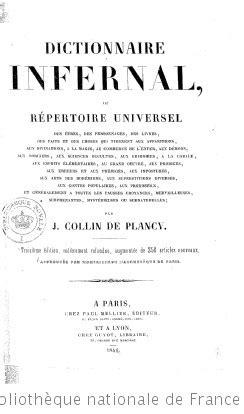 Vampires Extrait Du Dictionnaire Infernal 1818 La