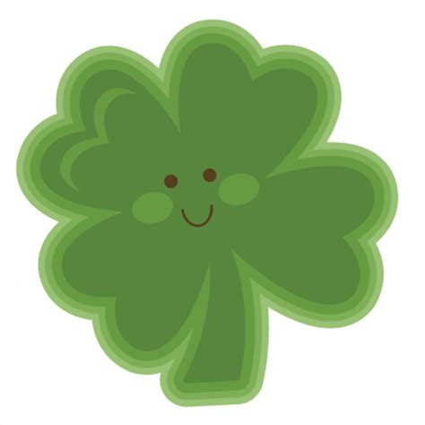 Free Software Mailed To Me At Home cute clover svg cutting file for scrapbooking st patricks