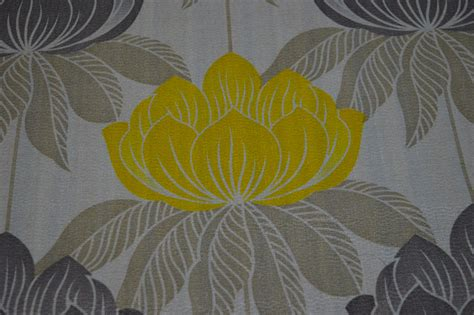 yellow curtain fabric roma yellow floral curtain fabric cotton