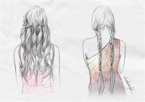 beautiful hairstyles drawing drawing hair drawing reference pinterest frisuren