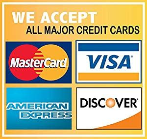 we accept cards sticker template we accept credit cards visa mastercard amex