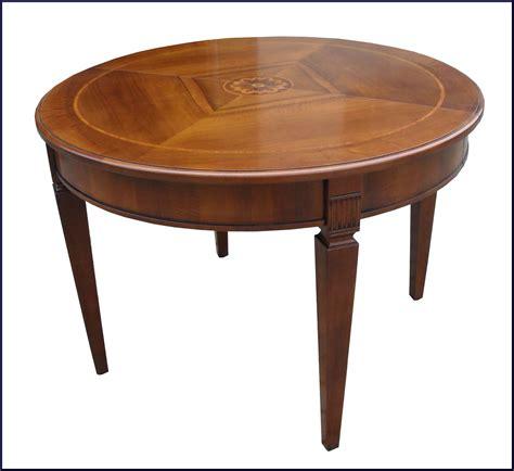 tavoli restaurati tavolo rotondo con gamba scanalata apribile la commode