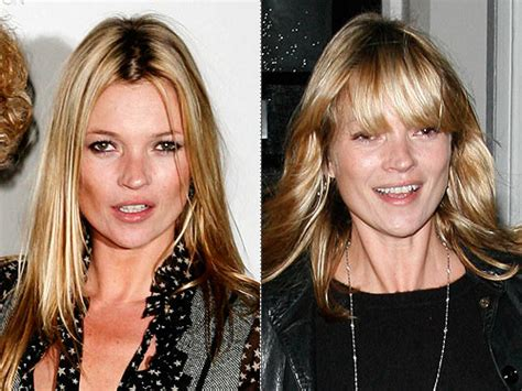 Kate Moss Cuts Bangs Em Or Em by Kate Moss Nose Www Imgkid The Image Kid Has It