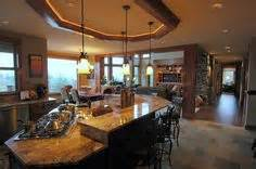 Decorating large great room great rooms with kitchens