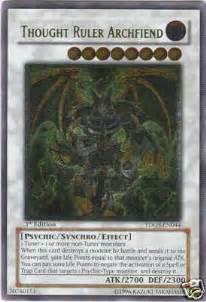 Kartu Yugioh Ori Thought Ruler Archfiend Ultimate thought ruler archfiend ultimate tdgs en044 ultimate