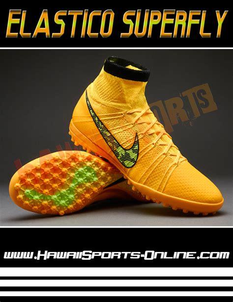 toko olahraga hawaii sports sepatu futsal original nike elastico superfly tf laser orange