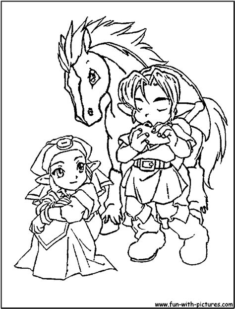 princess zelda coloring pages to print coloring pages