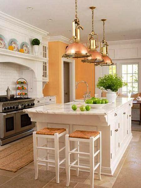 orange kitchen colors  modern kitchen design
