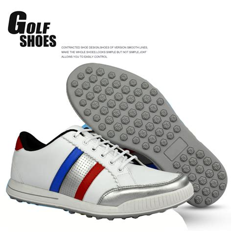 Golfer Slip On 48 2016 autumn golf shoes microfiber leather golf sports shoes for slip resistant rubber