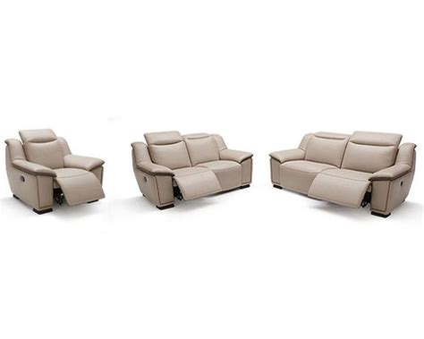 full leather couch modern full leather sofa set 44l6092