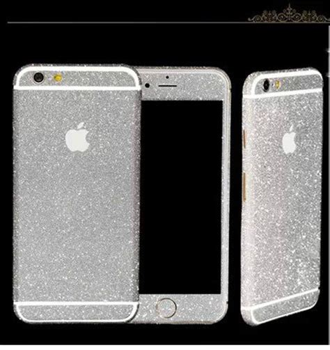 Sticker Glitter Iphone 5 5s glitter bling sticker skin cover for iphone