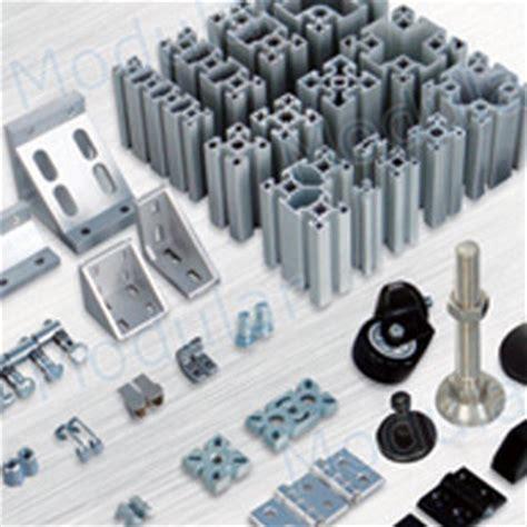 Extruded Aluminum: Modular Extruded Aluminum Framing