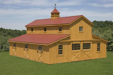 quality barns pine creek structures