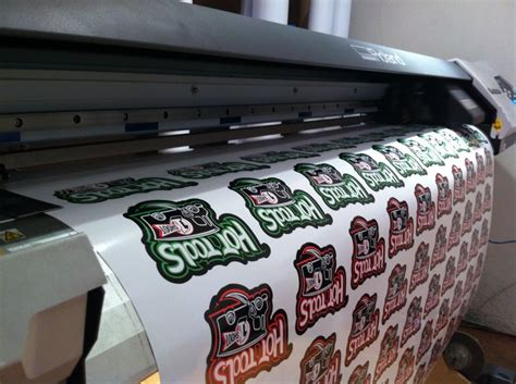 Custom Sticker Printer Machine label security stickers waterproof material hologram