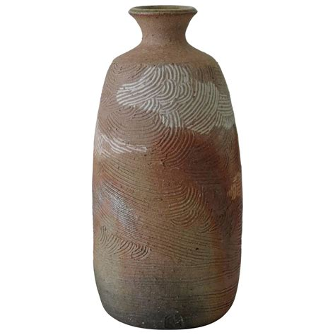 Japanese Vase Marks by Japanese Incised Pottery Vase Chop For Sale At