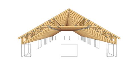 Monitor Style Barn Plans by Complex 17 Timber Trusses Truss Frame Construction Woodcon
