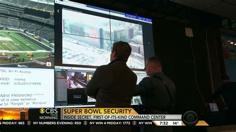 cbs airs wi fi password for bowl security center