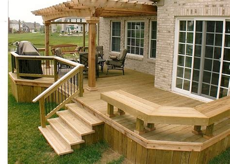 Patio Building Ideas by 4 Tips To Start Building A Backyard Deck Backyard Deck