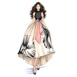 Design Sketch For The sketches on pinterest dress drawing simple sketches and cool art