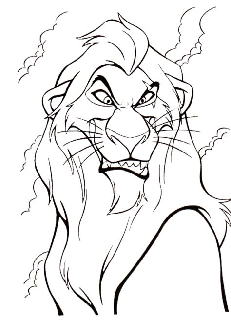 ed lion king coloring pages coloring pages