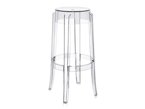kartell bar stools buy the kartell charles ghost bar stool crystal at nest co uk