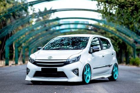 Tipe Modifikasi Motor by 30 Modifikasi Toyota Agya Tipe Trd S G E Terbaru Otodrift