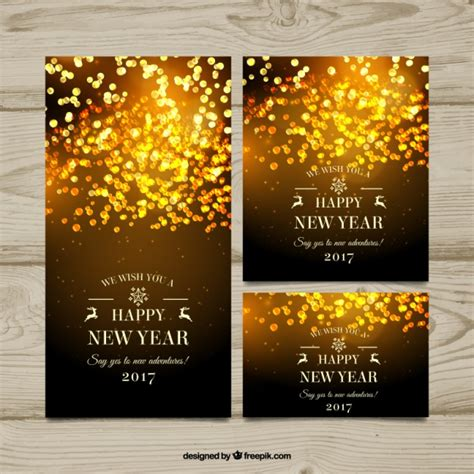 free vector new year banner new year banners with abstract design vector free