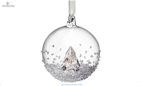 swarovski christmas ball ornament annual edition 2013 5004498