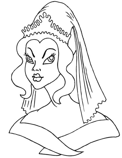 princess head coloring page index of coloringpages princesses