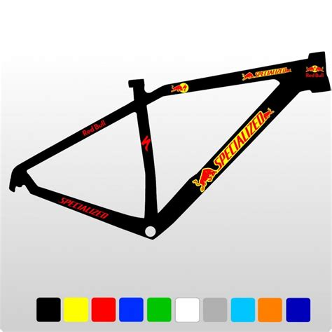 Fahrrad Aufkleber Red Bull by Specialized Red Bull Kit1 Aufkleber F 252 R Fahrrad Vinyls