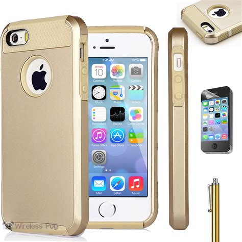 Iphone 5 5s 5g Transcover Shockproof Iphone5 5s 5g Shockproof gold hybrid shockproof cover for apple iphone 5 5s 5g dirt dust proof ebay
