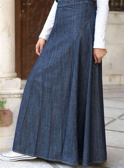 65 shukr usa alana denim skirt fashion modest