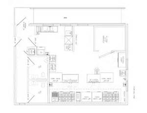 Commercial Kitchen Floor Plan by Commercial Kitchen Floor Plans Decor Ideasdecor Ideas