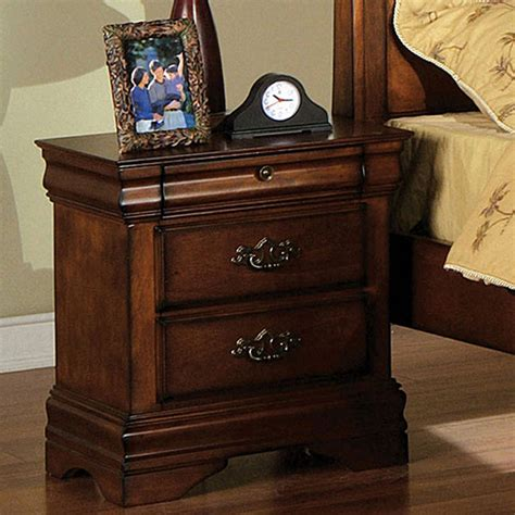 Solid Oak Nightstand by Solid Wood Classic Oak Stand Ebay