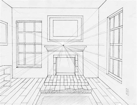 how to draw modern furniture easy perspective drawing 22 youtube one point perspective by midni6htf4iry on deviantart