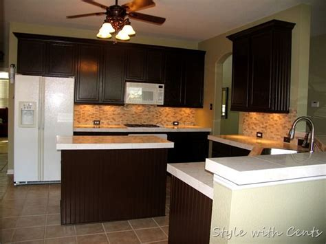 coffee color kitchen cabinets dark painted cabinets 750 total kitchen remodel sherwin