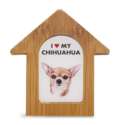 chihuahua dog house chihuahua wooden dog house magnet 3 5 x 3 in self