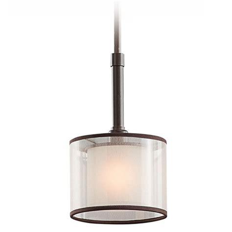White Glass Pendant Lights Kichler Mini Pendant Light With White Glass 42384miz Destination Lighting