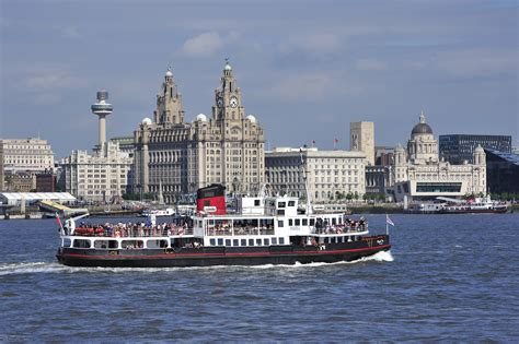 big boat on the mersey mersey ferry liverpool skyline the guide liverpool