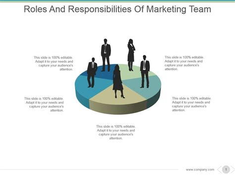 Roles And Responsibilities Of Marketing Team Powerpoint Team Roles And Responsibilities Ppt