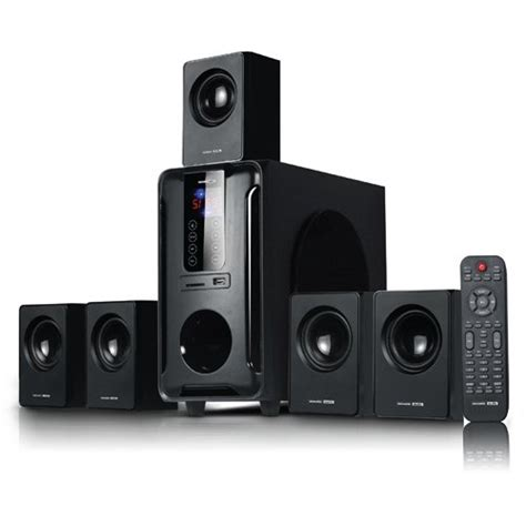 best acoustic audio aa5105 700w 5 1 channel home theater