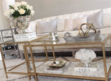 gold coffee tables living room diy gold coffee table living room tour gold coffee table