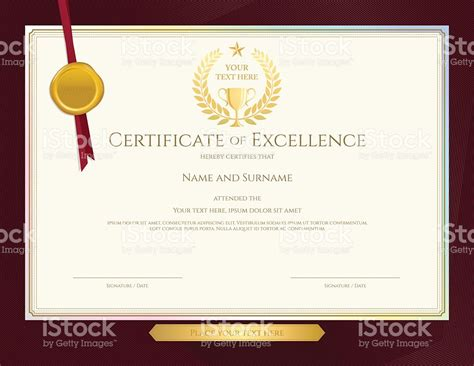 certificate design elegant award certificate template border joy studio design