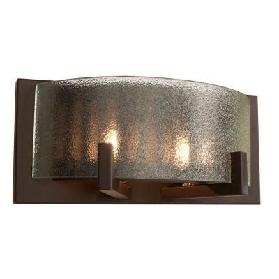 bathroom vanity lights home depot alternating current firefly 2 light bronze bath vanity
