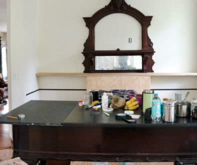 repurposed piano kitchen island part two