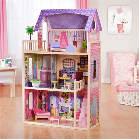 the dolls house builder build your own barbie dollhouse alpaca