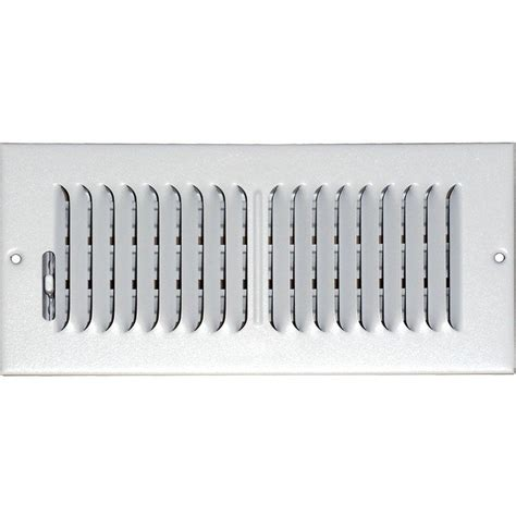 truaire 10 in x 10 in 4 way wall ceiling register h104m