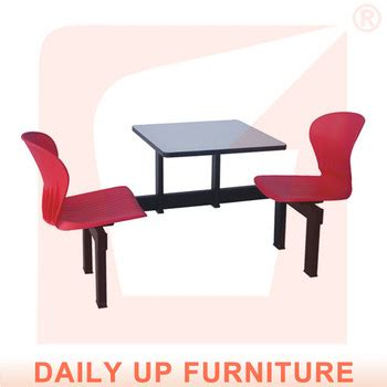 retail tables and chairs canteen desk and chair fast food restaurant sets